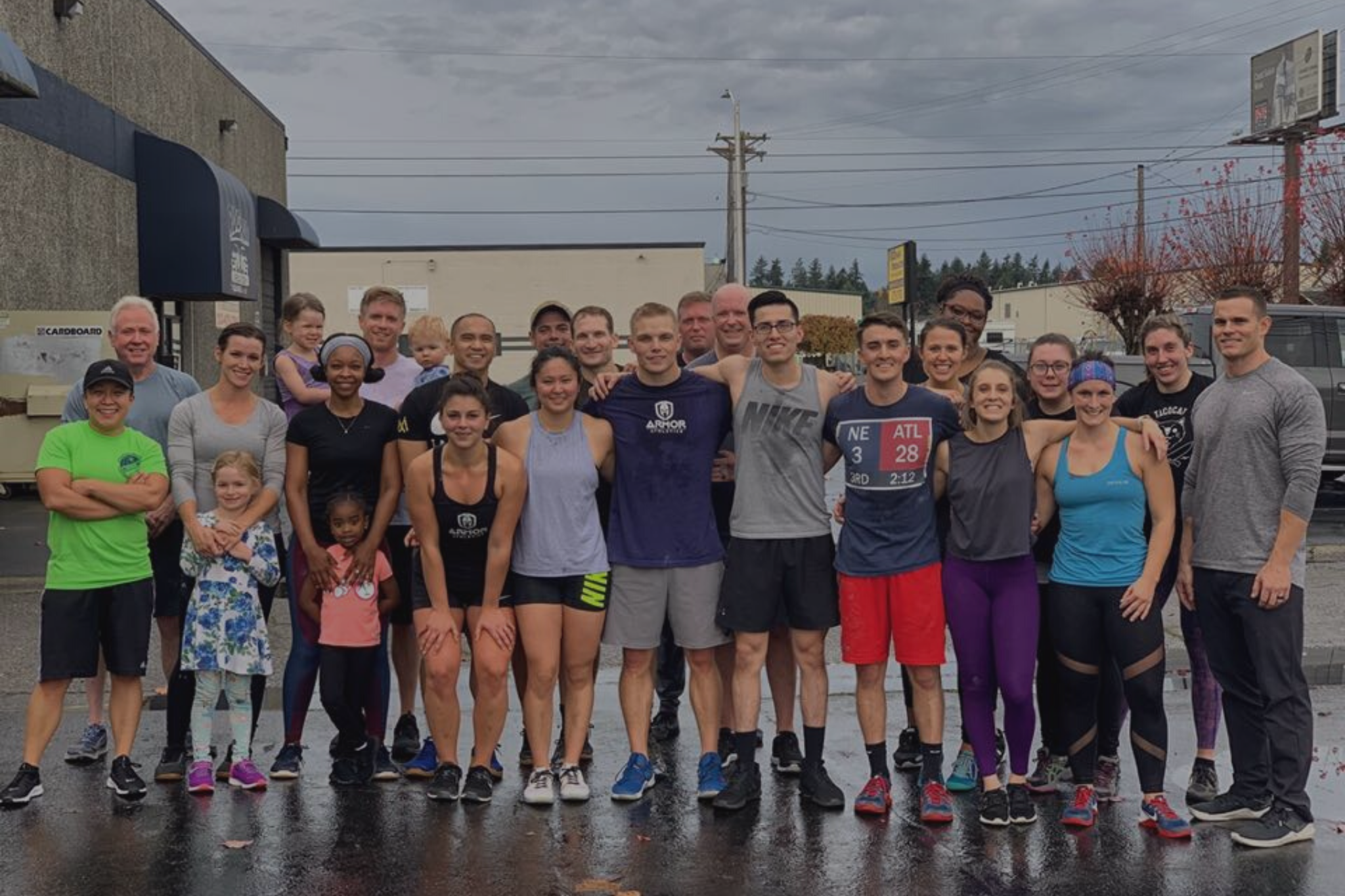 community, hero workout, teamwork, high five, teamwork, crossfit, class, training, workout, fitness, health, coaching, gym, tacoma